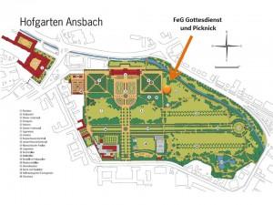 Hofgarten-Gottesdienst @ Hofgarten Ansbach